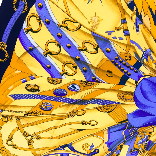 Hermes Silk Scarf Soleil de Soie UNWORN-11