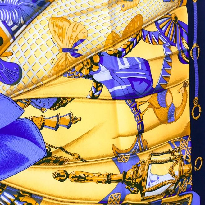 Hermes Silk Scarf Soleil de Soie UNWORN-8