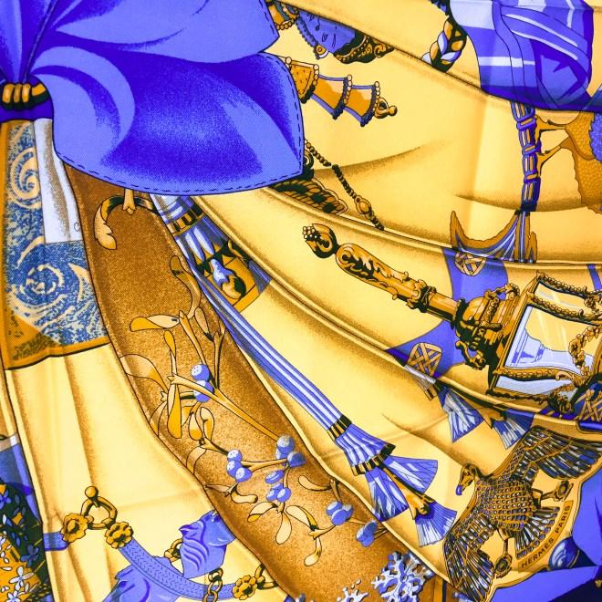 Hermes Silk Scarf Soleil de Soie UNWORN-9