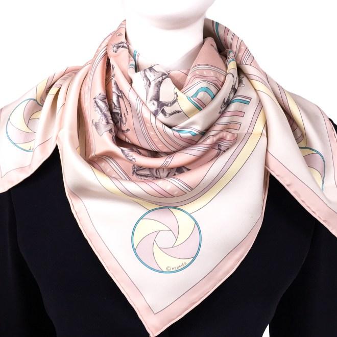 Hermes Silk Scarf Sequences Pink-10.jpg