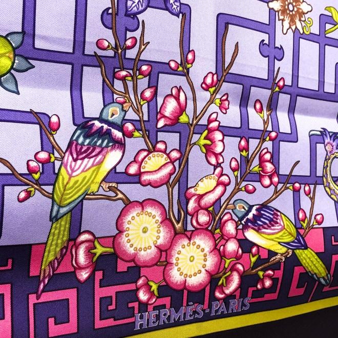 Turandot Hermes Silk Scarf GRAIL Lilac-8.jpg