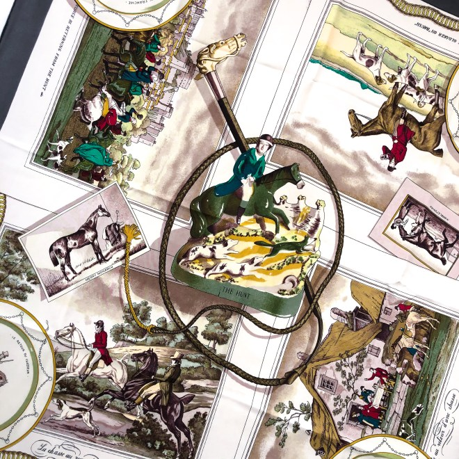 The Hunt Hermes Scarf by Philippe Ledoux - Inspiration by Carre de Paris