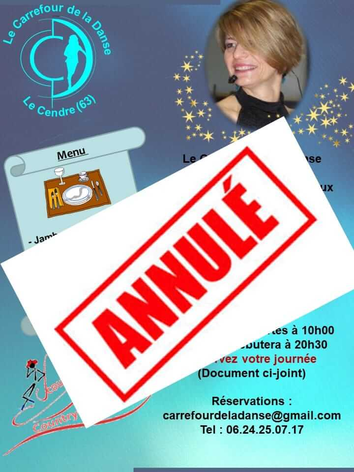 ANNULATION MAGALI CHABRET