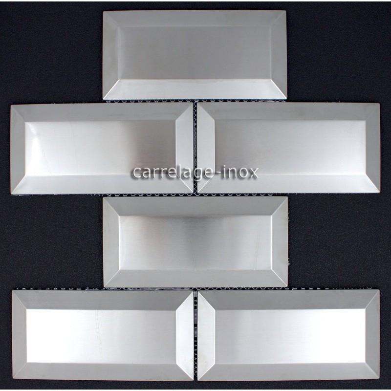 Carrelage Metro Inox Mosaique Credence Cuisine Metro Carrelage Inox Fr
