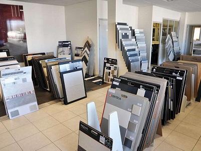 Intérieur magasin - Carrelage Laizé