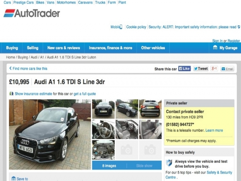 Autotrader Uk Wwwscamwarners View Topic Autotrader Uk Hacked Dealer