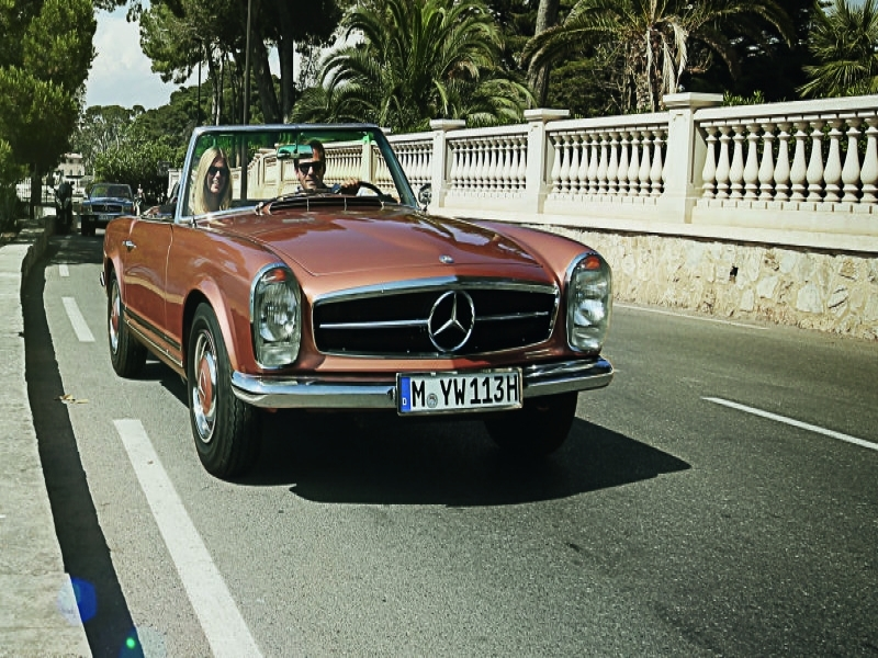 Classic Car Mercedes Benz Now Offers A Classic Car Travel Program Autoblog