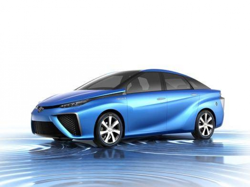 Latest New Car Incentives Toyota To Unveil Hydrogen Fuel Cell Vehicle Concept Cars Nbc News