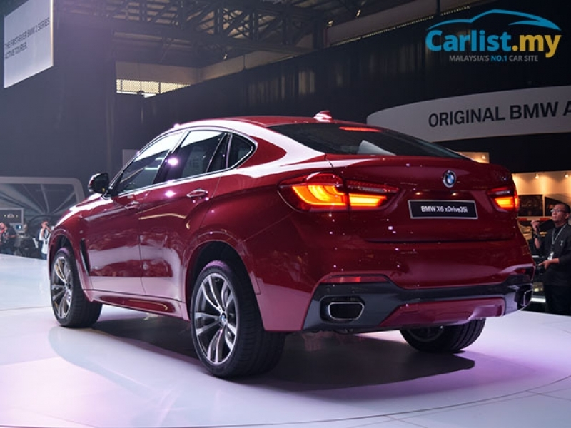 LeftLaneNews 2015 F16 Bmw X6 Launched In Malaysia Xdrive35i M Sport From