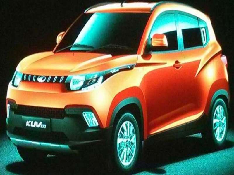 Mahindra New Car Launch	 Mahindra Kuv100 Set To Launch On January 15 To Feature Two All