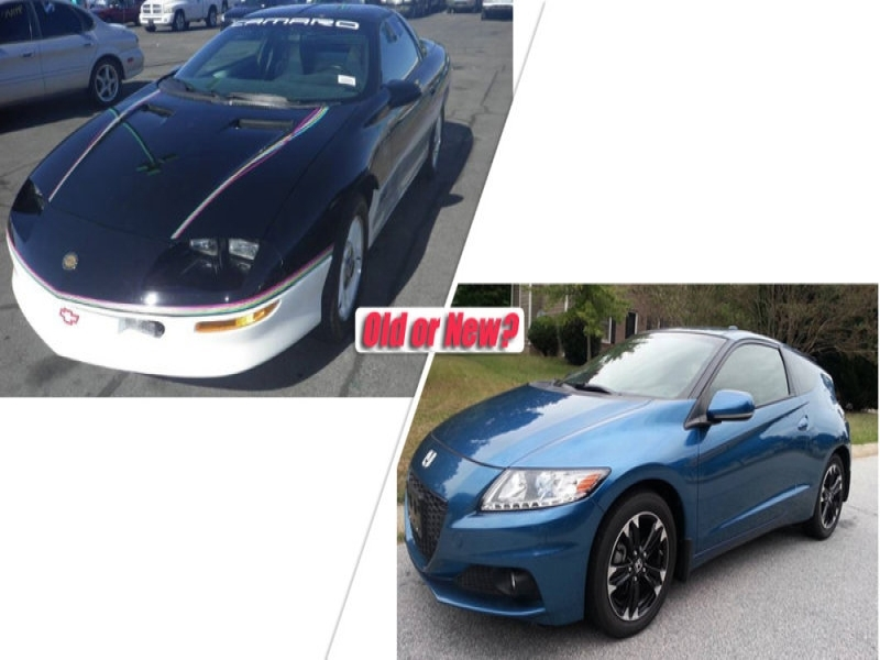 New Car Old Car Or New Car 1993 Chevy Camaro Vs 2015 Honda Cr Z Autoblog