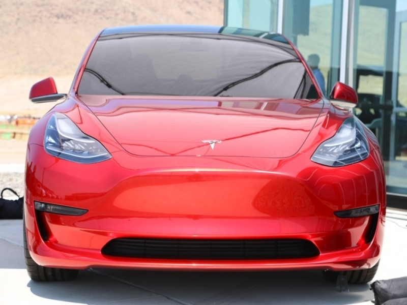 Tesla New Car Model 3 Tesla Completed The Development Of The Design Of Electric Model 3