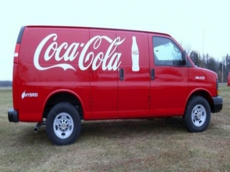 Vans Press Release Driving Change Coca Cola Transforms Service Vans To Hybrid
