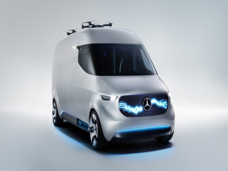 Vans Press Release Mercedes Benz Vans Reveals Advance 3 Pronged Quotstrategic Future