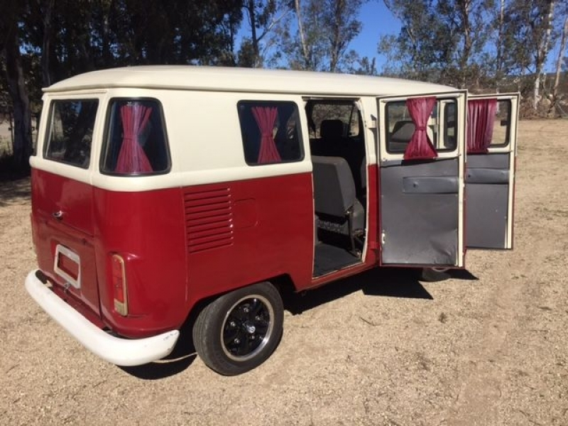 Vw Car Classic In 1977 1977 Vw 6 Door Taxi Bus For Sale Oldbug