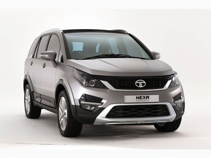 Tata New Car Hexa Upcoming Tata Hexa 2016 Suv Launched In 2016 Auto Expo Car N