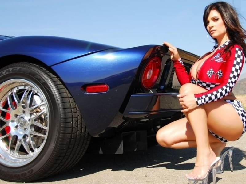 Car Models	 Sports Car And Sexy Model Denise Milani Calendars Of Cars And
