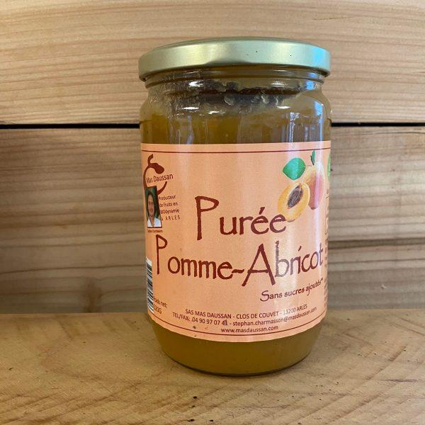 Purée pomme abricot bio