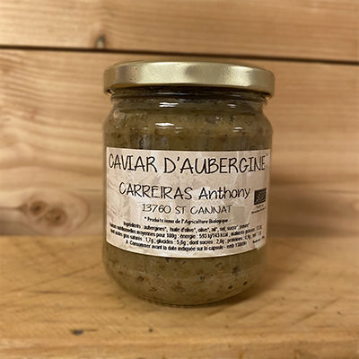 Caviar d'aubergines Anthony