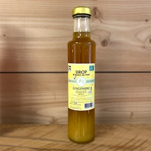 Sirop miel gingembre bio