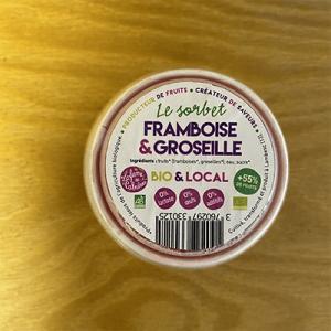 Sorbet Framboise Groseille 450 ml