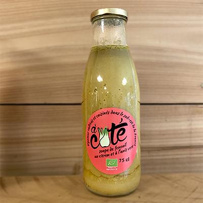 Soupe au fenouil et citron bio