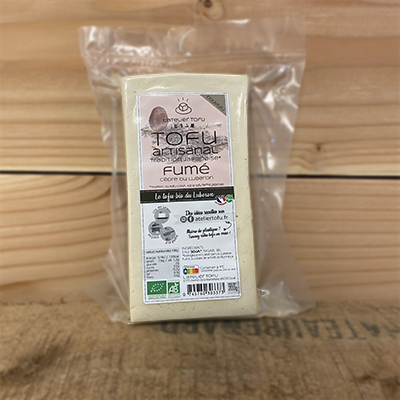 Tofu fumé cèdre Atelier Tofu 200 gr