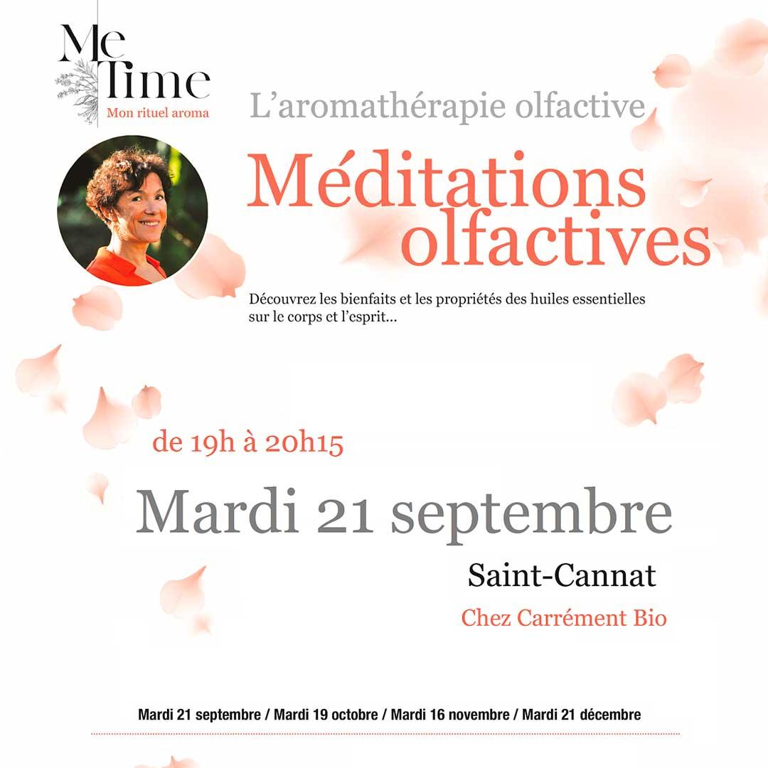 meditation olfactive