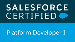 salesforce certified plateform developper 1