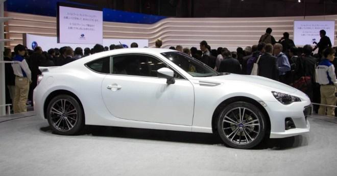 Subaru BRZ White