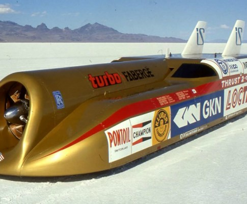 Land Speed Record Holders in Britain Offer a Unique Look