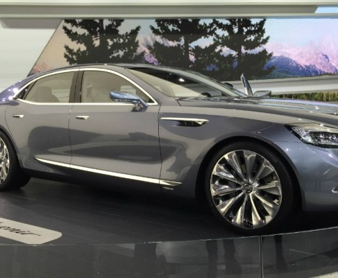 The Flagship from Buick; Perfect for America and China