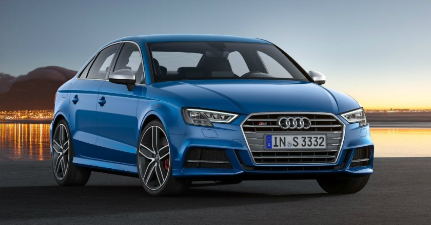 For 2017 the Audi S3 Sedan Features More Power and a Prettier Face