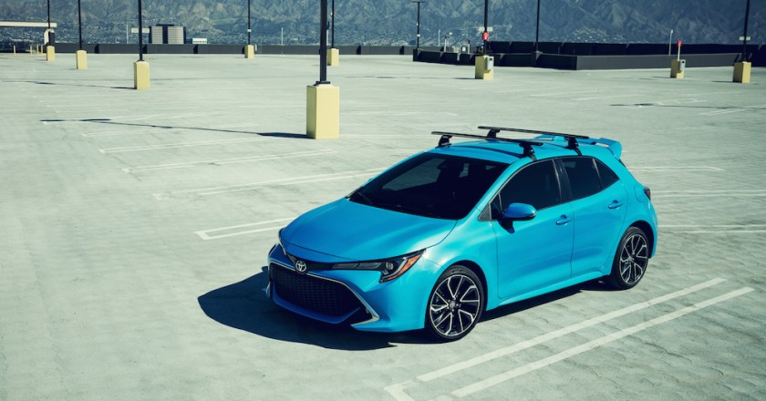The Right Stuff in the Toyota Corolla