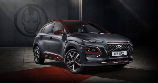 2019 Iron Man Hyundai Kona Edition