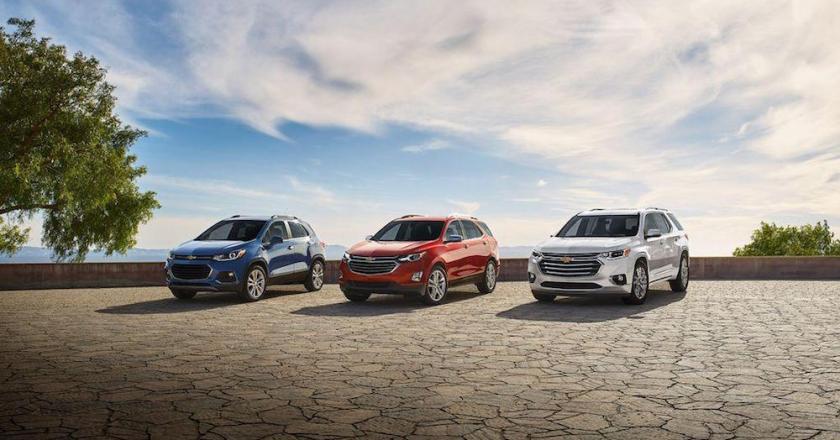 The Six SUVs of Chevrolet