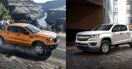 The Ford Ranger vs. the Chevrolet Colorado