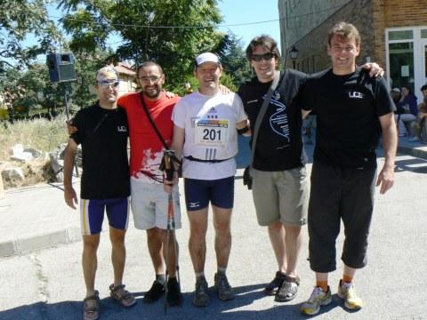 Maraton alpino madrileño 2009 carlos velayos en meta