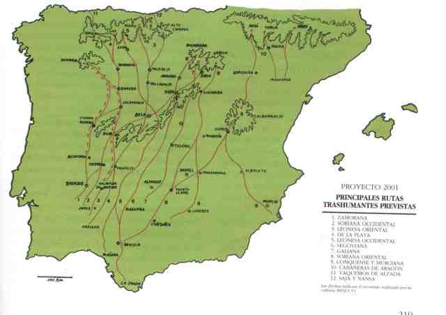 Cañadas Reales españolas