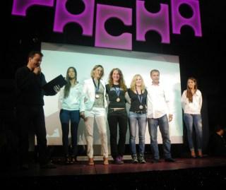 Ibiza ultra trail Podio femenino Pacha