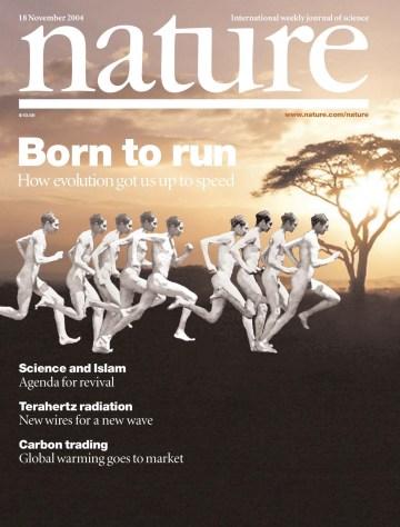Nacidos para correr  Born to Run Nature cover