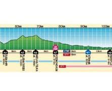 Ultra trail mount fuji perfil de carrera