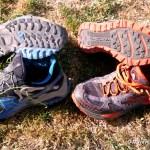 zapatillas ultra trail brooks cascadia 7 vs raidlight RL-001