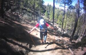Zapatillas  trail running brooks cascadia 7 en transgrancanaria 123km