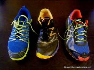 Inov-8 245 vs NB MT110 vs Asics Fuji Racer