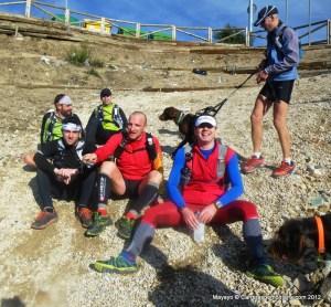 Keepgoing Resistenzia: Avituallando para los ultimos 7km Maratón Alpino Bandolero
