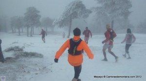 Rutas Sierra Madrid: Descenso invernal Alto del Telégrafo.