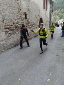 Chaqueta Lafuma speedtrail: Teresa Nimes en Course des Templiers 2012