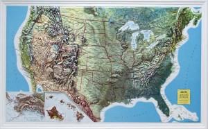 Ultra trails 2013 Mapa estados unidos america