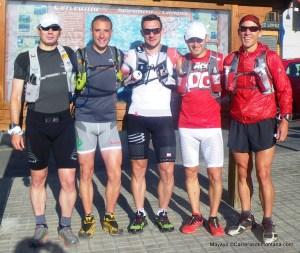 Salida entrenamiento ultra trail desde estación Cercedilla.